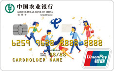 农业银行中国电信联名信用卡(Friend友情版-金卡)
