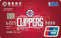招商银行NBA联名信用卡(快船队)