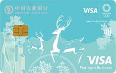 农业银行Visa奥运信用卡(友谊版-白金卡)