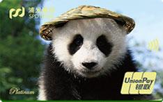 浦发银行动感熊猫信用卡
