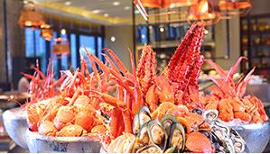 刷花旗银行信用卡,享广州W酒店TKT标帜餐厅自助餐买一赠一礼遇